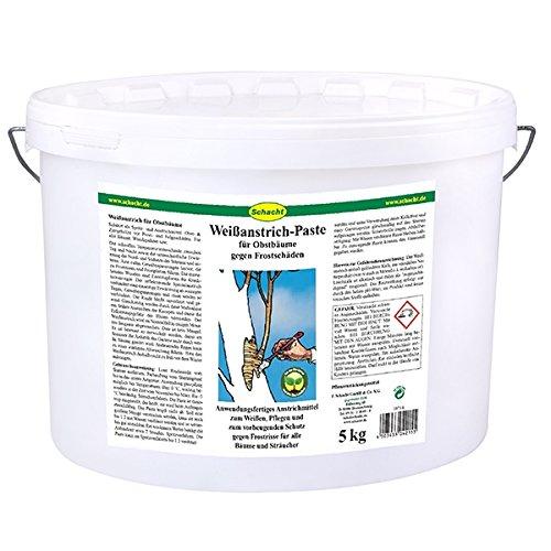 Schacht Weißanstrich Paste 5 kg für Obstbäume gegen Frostrisse