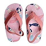 Holibanna Baby Mädchen Sommersandalen Meerjungfrau Meer Pantoffel Flip Flop Leichte Schnell Trocknende Schaum Strandschuhe Anti-Rutsch Weiche Sohle Schuhe 25 Rosa