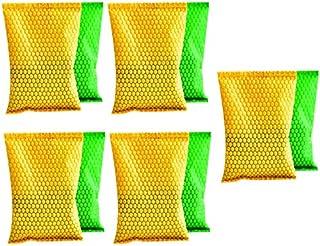 XKMY Lot de 10 sacs de charbon de bois pour réfrigérateur, voiture, armoire, désodorisant (couleur : aléatoire)