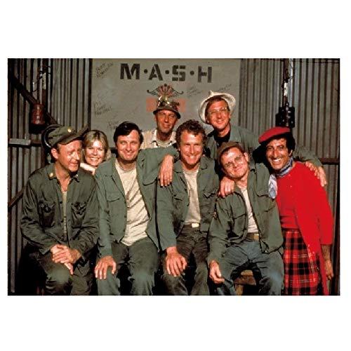 wzgsffs Mash Movie 1970 Rare Mash TV Póster De Arte De Pared E Impresiones Impresas En Lienzo para Sala De Estar, Dormitorio, Cafetería, 24X32 Pulgadas X 1 Sin Marco