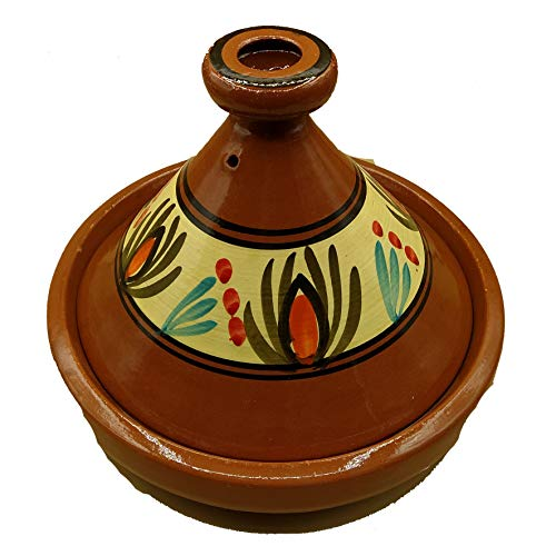 Arredamento Etnico Tajine Pentola Terracotta Piatto Marocchino 30cm 2001211004