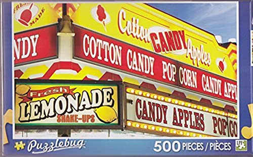 Puzzlebug 500  Food Concessions Stand Sign at the County Fair by LPF