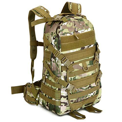 Camping Militar Tácticas Mochila Ataque al aire libre Pack Hombres Montañismo Bolsa Mochila Especial, Hombre, CP, 30 - 40L