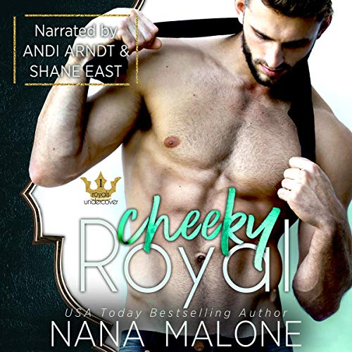 Cheeky Royal audiobook cover art