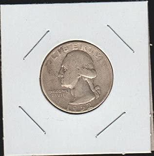 1952 D Washington (1932 to Date) Quarter Good