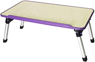 Folding Laptop Table Height 4 Adjustable Portable Bed Notebook Table Sofa Table Learning Small Desk Dormitory Lazy Table A...