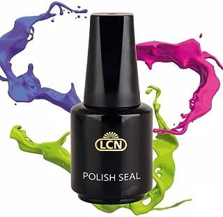 LCN Polish Seal Heat Hardening Top Coat For Longer Lasting Polish 10ml