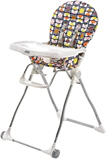 ZXH Highchairs Adjustable Baby Highchair,Mamas & Papas Toddler Highchair Junior Seat with Removable Adjustable Tray Backrest Safety Harness - 20.08x42.52inch