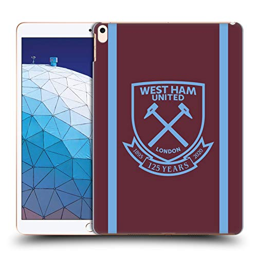Official West Ham United FC Home 2020/21 Crest Kit Hard Back Case Compatible for Apple iPad Air (2019)