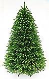fluffy finger pine super full shape artificial christmas tree prelit with led light metal sand (6ft)