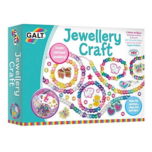Galt Toys, Jewellery Craft, Kids' Craft Kits, Ages 5 Years Plus