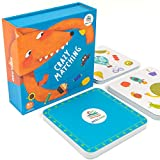 ⭐【 A GREAT FIRST MATCHING GAME FOR KIDS】: Matching cards for toddlers contains 54pcs pattern cards,The illustrations are identical and beautifully colored with Transportation, Animals, Nature,Foods,Daily Supplies ect 57 patterns. Any two cards have a...