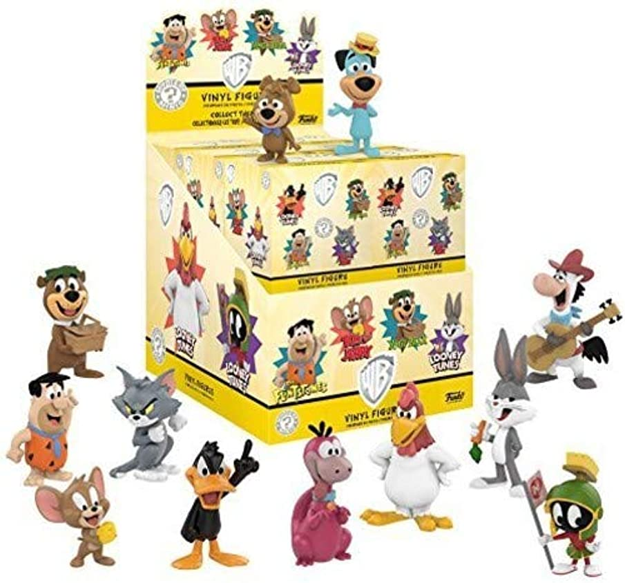 Funko Mini Saturday Morning Cartoons (One Mystery Figure) Collectible Toy