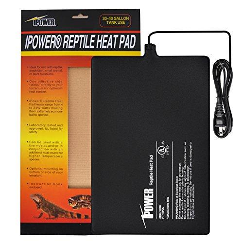 iPower Reptile Heat Pad Under Tank Terrarium Warmer Heating Mat