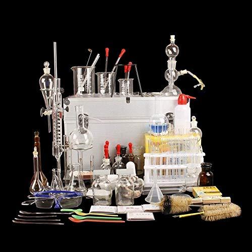 Labor-Komplettset mit Ausrüstung für die Chemie-College-Familie, industriewissenschaftlichem Forschungsversuch und Lehrmaterial für das Glasinstrumenten-Set