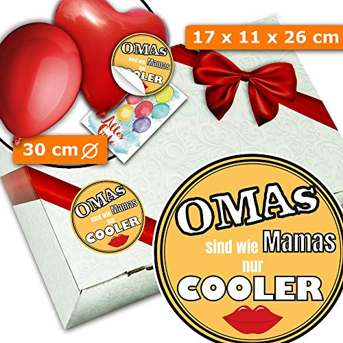 Coole Omas - Geschenke Kiste - Geschenk Oma