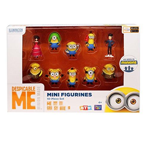 MTW - Minions - Ich einfach unvebesserlich - Despicable Me - 10 Sammelfiguren in Box