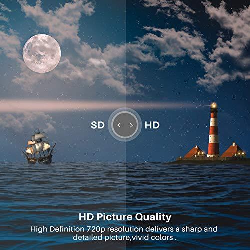Schwarz, Triple Tuner, DVB-T//T2//S//S2, HDMI, VGA, USB,PC-Monitor-Anschluss HD LED Fernseher 24 Zoll Caixun EC24Z2 61cm Energieklasse A+