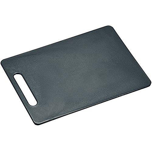 Kesper 30484 Planche à Découper Antidérapante Plastique Gris 34 x 24 x 0,6 cm
