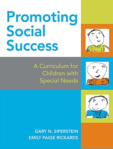 Compare Textbook Prices for Promoting Social Success: A Curriculum for Children with Special Needs AAC 1 Edition ISBN 9781557666741 by Siperstein Ph.D., Gary,Rickards M.A., Emily