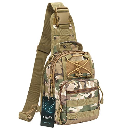 G4Free Outdoor Tactical Backpack,Military Sport Pack Shoulder Backpack for Camping, Hiking, Trekking