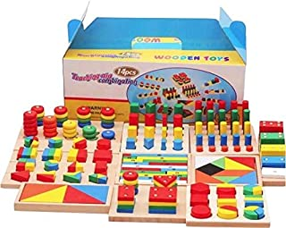 14 in 1 Wooden Educational Toys