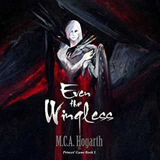 Even the Wingless audiobook cover art