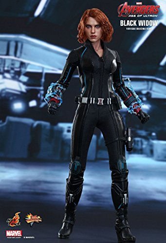 Hot Toys Mms288 Avengers AGE of Ultron Black Widow 1/6 Scale Figure by Hot Toys