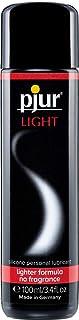 pjur LIGHT - Silikonbaserad glid- & massagegel - lätt formulering för extra lång glidförmåga och härliga sexlekar (100ml)