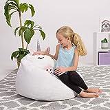 Posh Beanbags Bean Bag Chair, Animal - White Unicorn