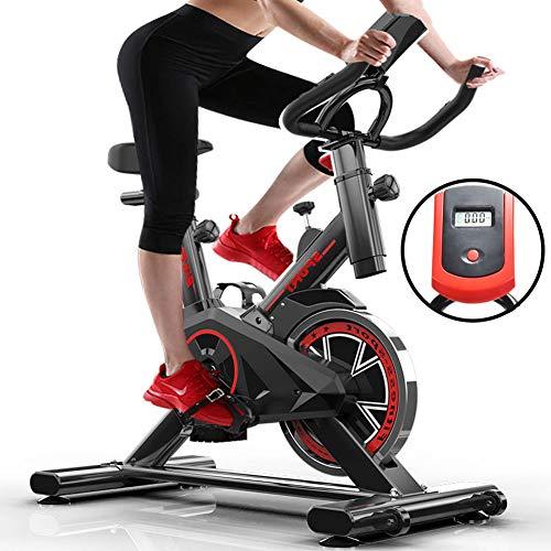 GONGYBZ Bicicleta Estática, Sportstech Bicicleta Estática,con Pantallas LCD Súper Silenciosas, Resistencia Infinita Equipo De Ejercicios,Unisex