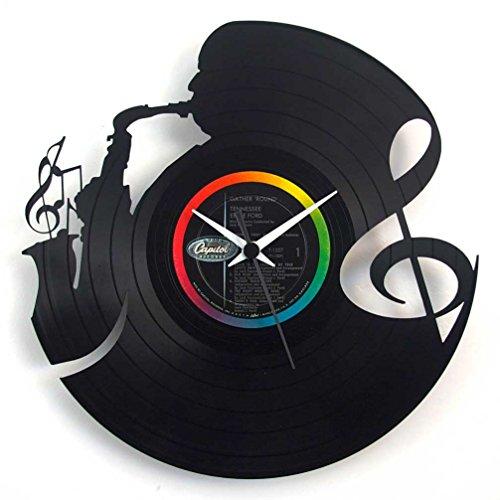 Reloj de pared, solo para los mejores músicos de Jazz, rega