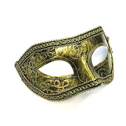 Iceclubs Maske - Venice Prom Party Zorro Mask Men - Weihnachten / Halloween / Karneval,Maskerade Maske Musical Party Glocken Mardi Gras Party Venedig
