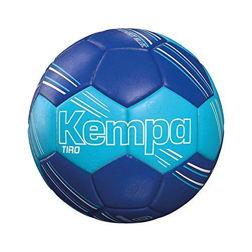 Kempa TIRO Handball, eisblau/Royal, 0
