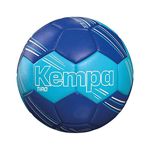 Kempa TIRO Handball, eisblau/Royal, 0