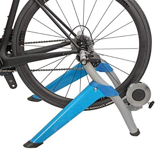 Lanrui Bici MTB Ciclismo portátil Soporte Bicicleta de Carretera Trainer máquina con reducción de Ruido Resistencia de Ruedas Adecuado for Cualquier Carretera Bicicleta de montaña o Bike