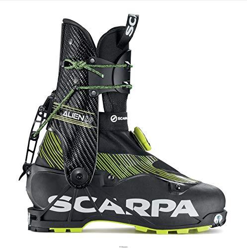 SCARPA Scarponi da Sci Alpinismo Alien 1.0, Carbon Black, 27