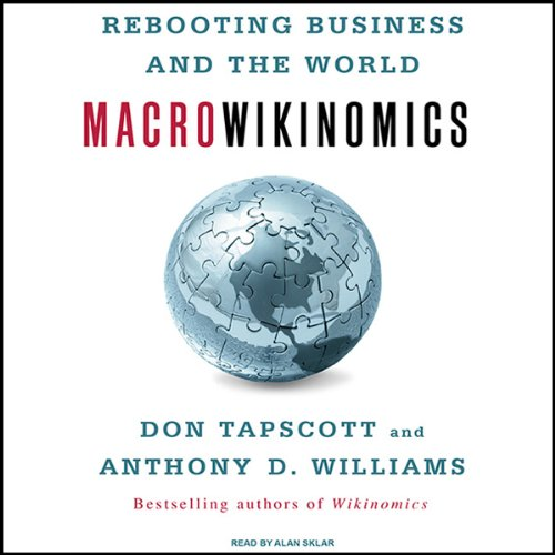 Macrowikinomics audiobook cover art