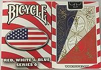 自転車赤白と青のシリーズ6オーバルデザインのトランプ Bicycle Red White and Blue Series 6 Oval Design Playing Cards