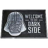 Pyramid International Felpudo de Caucho Star Wars Welcome to Dark Side, Negro, 40 x 60