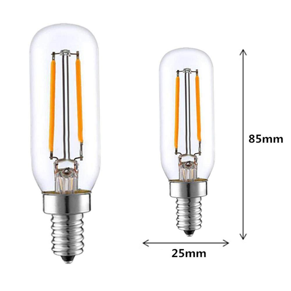 mbition bombilla de LED bombilla para Electrodomésticos bombilla de LED E14 bombilla para nevera bombilla para campana extractora de cocina 3 W t25led 220 V: Amazon.es: Hogar