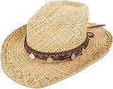 normani Cowboy Hut | Sommerhut | Strohhut Farbe Athna Größe 55/57