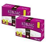 WokFoods Konjac Linguine Food preparado con harina de Konjac Comida japonesa clásica - 2 x 300 gramos (peso escurrido 400 gramos)