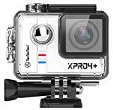 TecTecTec 4K Actionkamera XPRO4+ Ultra HD Sport Action Kamera Action Camera WiFi 4K Full HD 1080P...
