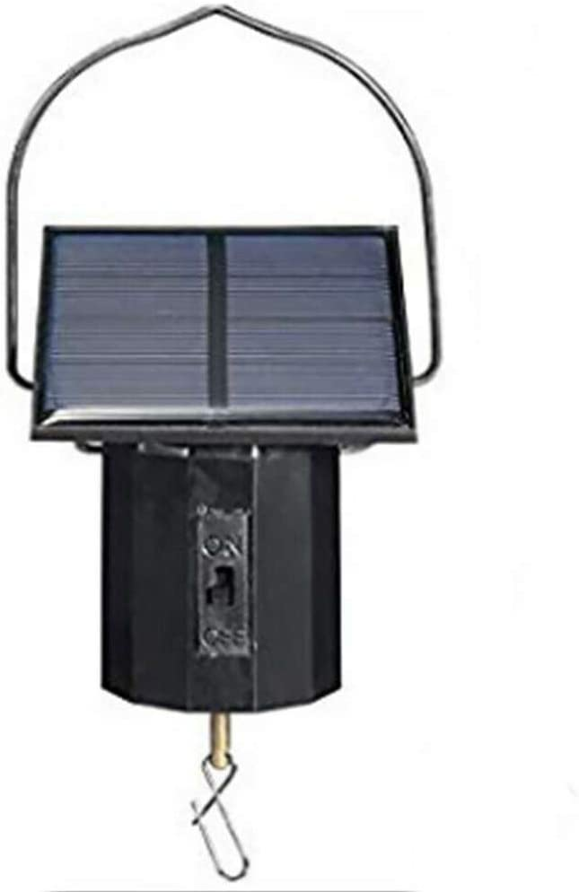 Max 72% OFF 🎁 Metal Rotator Product Fenleo Motor Powered Wind Solar Spinner