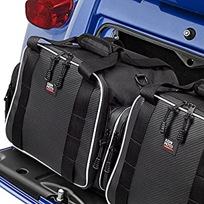 Trunk Liner Bags,1 Pairs for Tri Glide Freewheeler Accessories Trike models Trunk Travel-Paks Luggage Travling Storage 2009-2020 by kemimoto