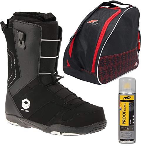 Ftwo AIR Herren Snowboard Schuhe Softboot 42,5 EU INKL. Boot Bag + Spray