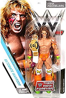 WWE Basic Series Then Now Forever Ultimate Warrior Exclusive Action Figure (with Heavyweight Championship Belt)