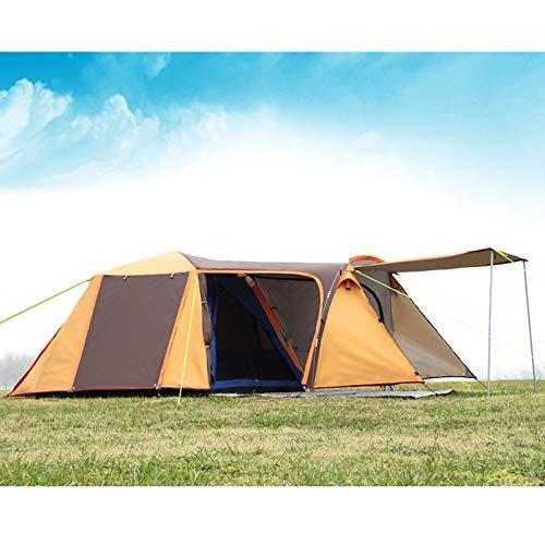 Uitstapje Udstyr, Tent Fox 2-3 Personen Camping Tent, Aluminium Palen Outdoor Reizen Dubbele Laag Regendicht Winddicht Lichtgewicht Backpacking Tent, Kejing Miao Blauw