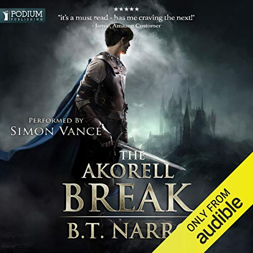 The Akorell Break audiobook cover art